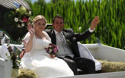 Wir gratulieren Romina und Stefan zur Hochzeit!