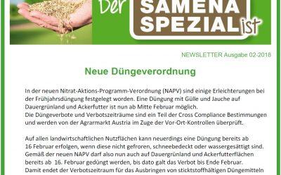Neue Düngeverordnung!