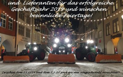 Wir wünschen ein besinnliches Weihnachtsfest!